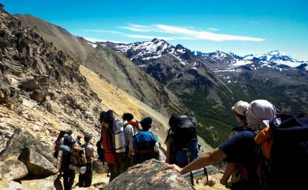 Agrupación Halcones en Bariloche