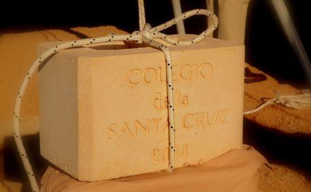 Colocación Piedra Fundamental Colegio Santa Cruz