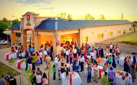 Inauguración del Colegio de la Santa Cruz - 27 feb 2016