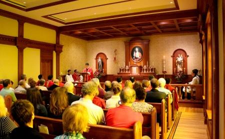 Primera Misa en el Family Center - Michigan, USA