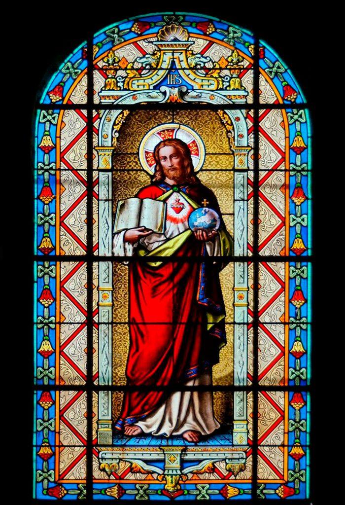 Imagen Jesús con Biblia