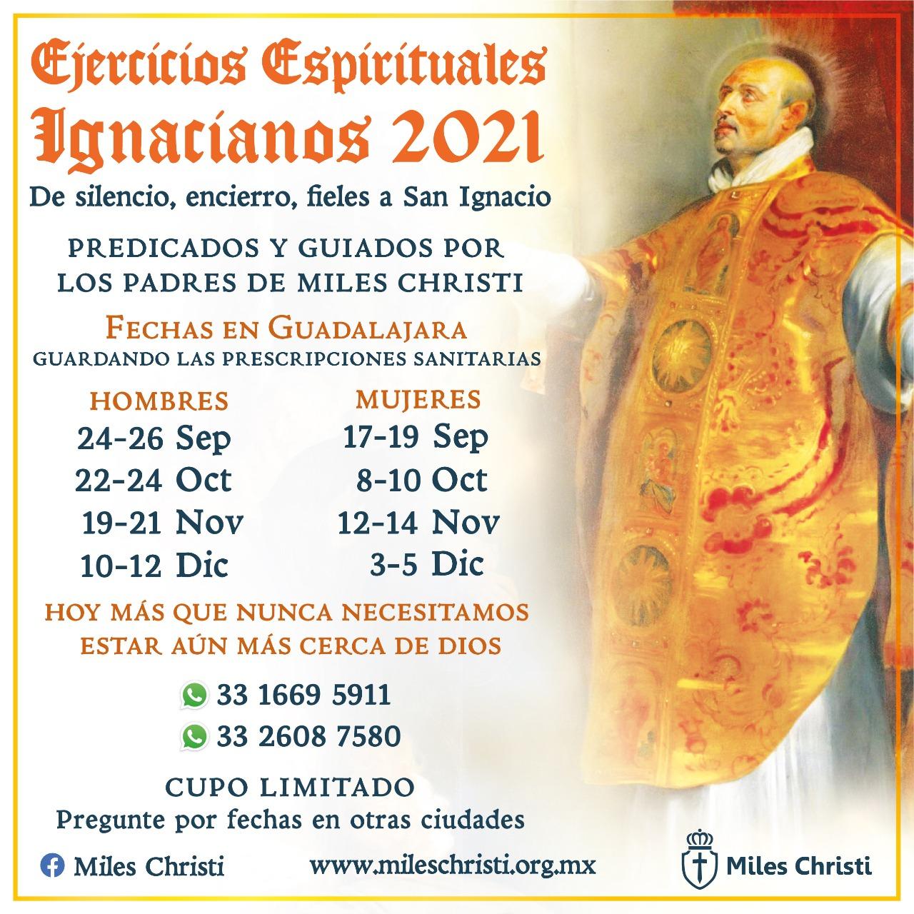 Ejercicios Espirituales en Guadalajara